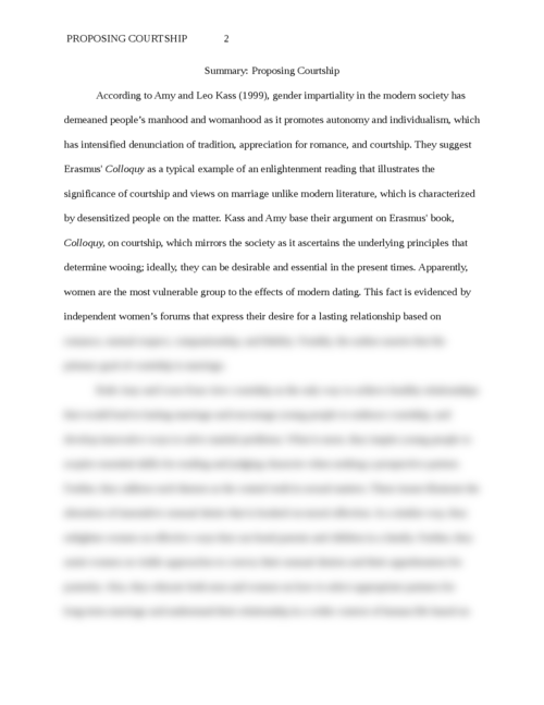 Sample Apa Essay Paper Cfebecfddfbfaf  Fcbcfbacddedceadada  Cfdcfacefdab  Reflection Paper Essay also Thesis Statements For Essays Summary Proposing Courtship  Essay Brokers How To Write A Essay For High School