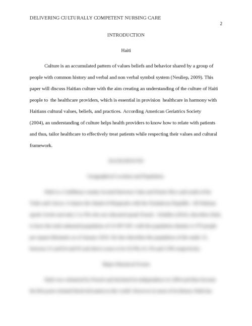 harmony in society essay