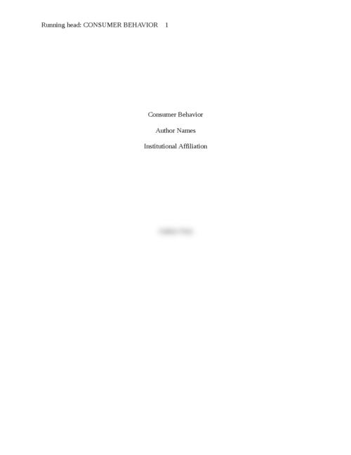 behavior across the lifespan essay