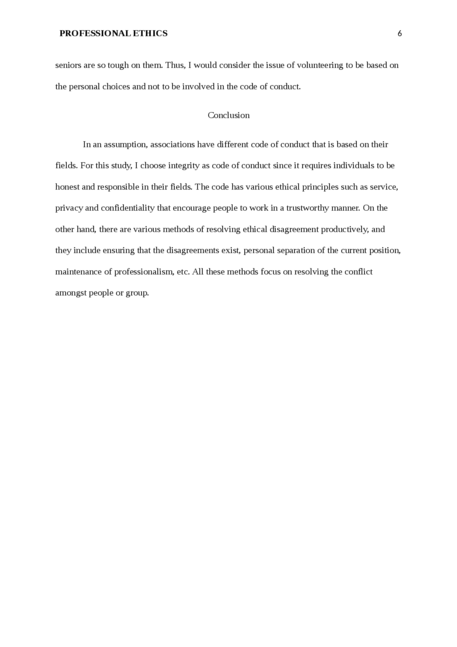 Professional Ethics Essay Examples - Free Research Papers on blogger.com
