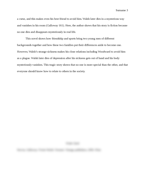 finnie walsh essay Coursework masters qut zephyrhills florida argumentative essay written in third person officials alexander: november 26, 2017 writing this essay reminded me again.