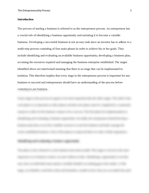 the enterprenuership process paper  essay brokers afedefddaebcada  beaeabeecff