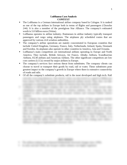 united airlines case analysis essay United airlines slept analysis q1: what is meant by the external business environment and what are its main components - united airlines slept analysis introduction external environment refers to the environment that has an indirect influence on the business the factors are uncontrollable by the business the external environment of an organization is those factors.